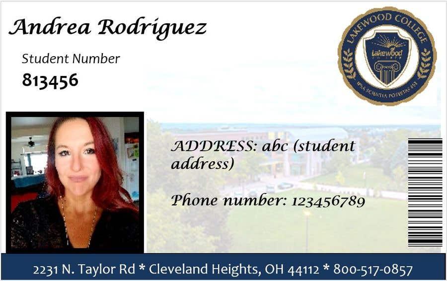 Entry #21 by PriyanshGadiya for Design a Student ID Card