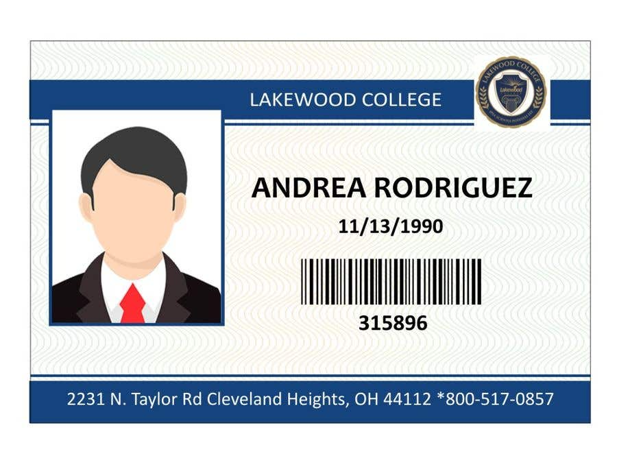 Entry #31 by Graphicsmart89 for Design a Student ID Card