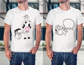 #3 für T-Shirt Design Vegan/Tierrechte von jenidesign
