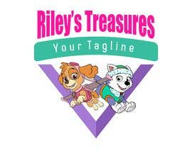#14 for My daughter has started a hobby/business selling second hand goods. The name of the business is RILEY'S TREASURES. Attached pics show her favourite colours from a tv cartoon she likes. by manarul04