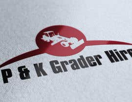 #1 para Logo Design for P & K Grader Hire por zedworks