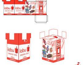 #14 para Diseño de empaque para caja de Snacks de robielisc