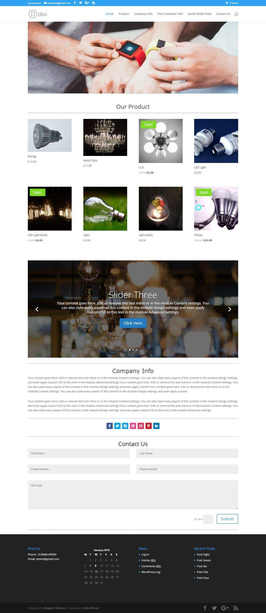 Entry #65 by jahangir505 for build a ecommerce website