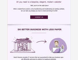 #11 для HTML Email template needed for a new SaaS от silvia709