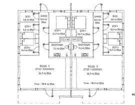 #7 для Make floor-plan handwritten/ architect style от aliwafaafif