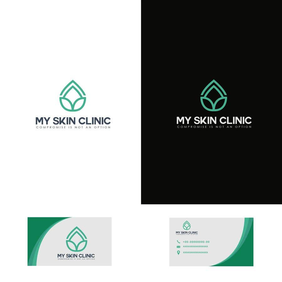 Penyertaan Peraduan #128 untuk Logo, business card and stationary  design for medical skin clinic