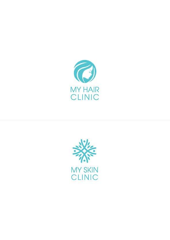 Penyertaan Peraduan #32 untuk Logo, business card and stationary  design for medical skin clinic