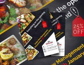 nº 35 pour Restaurant Opening Leaflet par wowdesign1