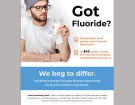#64 untuk Got Fluoride Flyer oleh darbarg