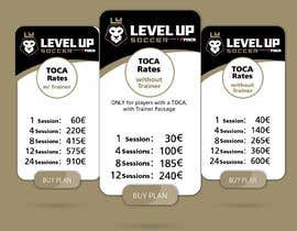#11 untuk URGENT Create a Pricing graphic for our different package options oleh danieledeplano