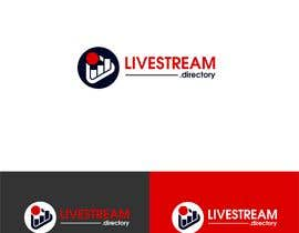 #193 za Design logo for: LIVESTREAM.directory od klal06