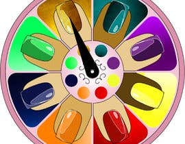 #1 para Design a nail polish game spinner de OdetteS0