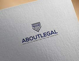 """#239 for Logo Design: """"AboutLegal"""" by tanvirahmmed67"""