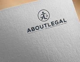 """#159 untuk Logo Design: """"AboutLegal"""" oleh Ranbeerkhan077"""