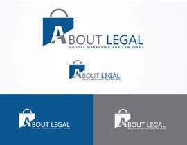 "#157 untuk Logo Design: ""AboutLegal"" oleh sharthokrasel"
