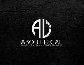 """#207 para Logo Design: """"AboutLegal"""" de sharthokrasel"""