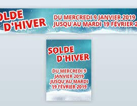 #20 for Build me two banner for the discount periode in France by Firakibbd