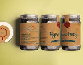 #86 для Design a minimalistic and playful product label for a natural thyme honey jar. от Nathasia00