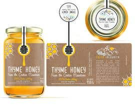 #110 для Design a minimalistic and playful product label for a natural thyme honey jar. от sbihamiri