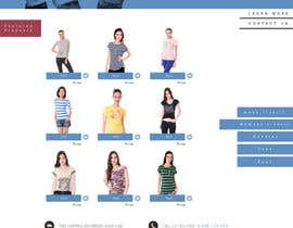 #3 untuk Website Design for T-shirt shop oleh Artvertise