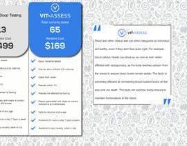 Nro 54 kilpailuun Design a beautiful comparison table for our website. käyttäjältä moshalawa