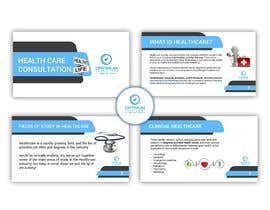 #9 for I need a health care consultation company portfolio, filled by general statements, in Arabic and English in both PDF and PowerPoint at least 10 pages, the logo and identity are ready by Bmhasan