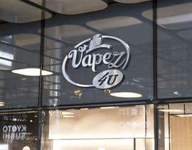 #47 для I would like a logo created for a vape online store where I will sell vape cigarettes and liquids.  The shop name is Vapez4u so would like something to go with it.  I don't mind a nice edgy design and I am open to colour schemes and designs. от motiondiscover