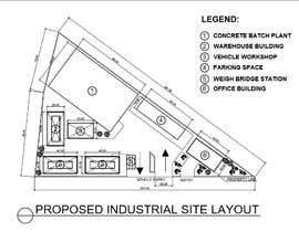 #32 для Industrial Yard Floor Plan and Layout от toramannnnn