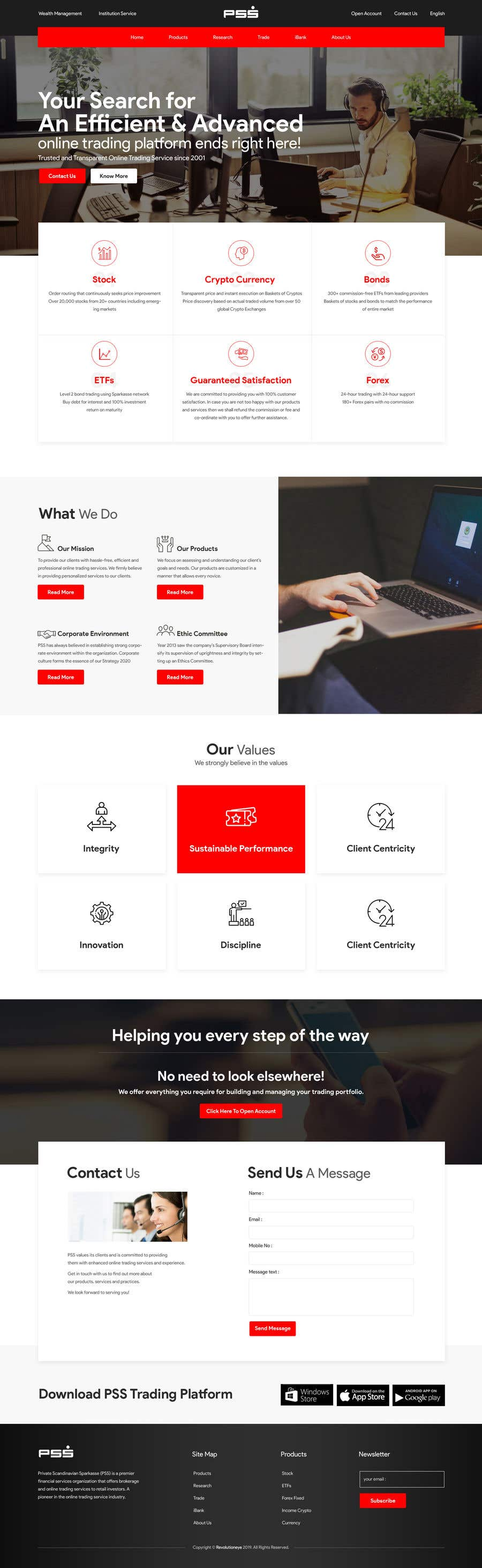 "Intrarea #4 pentru concursul ""Home page design for existing site"""