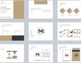 #4 для make a logo presentation template - make a business branding template от ChanezRekhou