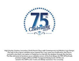 #23 for Revamped Logo Design - Celebrating our 75th Anniversary by ouaamou
