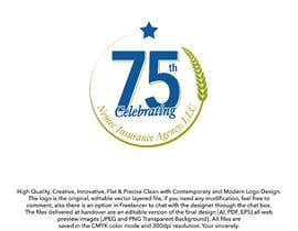 #26 for Revamped Logo Design - Celebrating our 75th Anniversary by ouaamou
