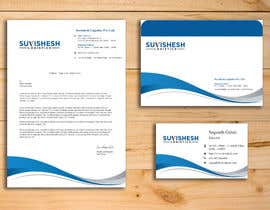 Nro 17 kilpailuun Design our simple and sophisticated letterhead, Visiting card and Envelope käyttäjältä shivanipawar001