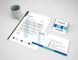 Nro 22 kilpailuun Design our simple and sophisticated letterhead, Visiting card and Envelope käyttäjältä PSdesigner99