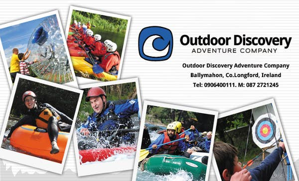 Contest Entry #                                        20                                      for                                         Business Card Design for Outdoor Discovery Adventure Company