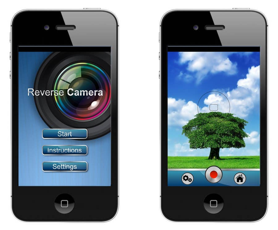 Proposition n°                                        1                                      du concours                                         App Design for Simple IOS Video Application