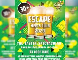 #15 для Design A5 Flyer Front - Escape1 от Sabbir8382