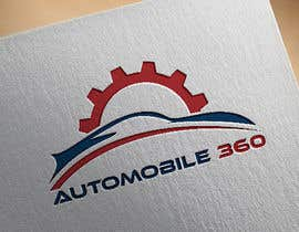 #44 для I need a logo designed for my new company named Automobile 360. The colors I prefer are blue, black and white. от as9411767