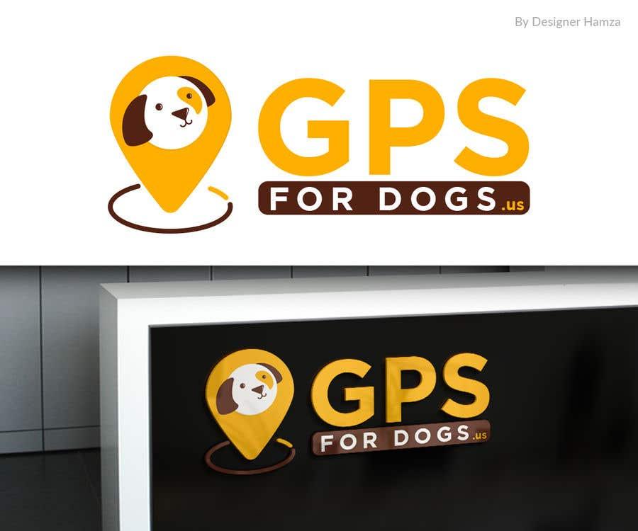 """Penyertaan Peraduan #51 untuk Logo for """"GPS For Dogs"""""""