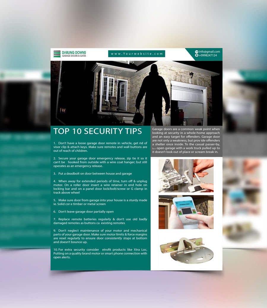 Entry #243 by ibrahimkhalil111 for Design information flyer | Freelancer