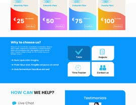 #7 for mockup re-design for current IT site in build by saidesigner87