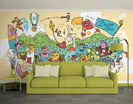 nº 9 pour Graphic designer for wall mural par tlcwakeel
