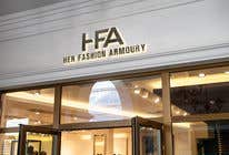 Graphic Design Konkurrenceindlæg #14 for 'Her Fashion Armoury' or the Acronym 'HFA' in a logo. No bright colours. Classic design. Will be for an online female clothing rental business