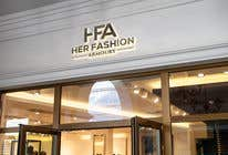 Graphic Design Konkurrenceindlæg #19 for 'Her Fashion Armoury' or the Acronym 'HFA' in a logo. No bright colours. Classic design. Will be for an online female clothing rental business