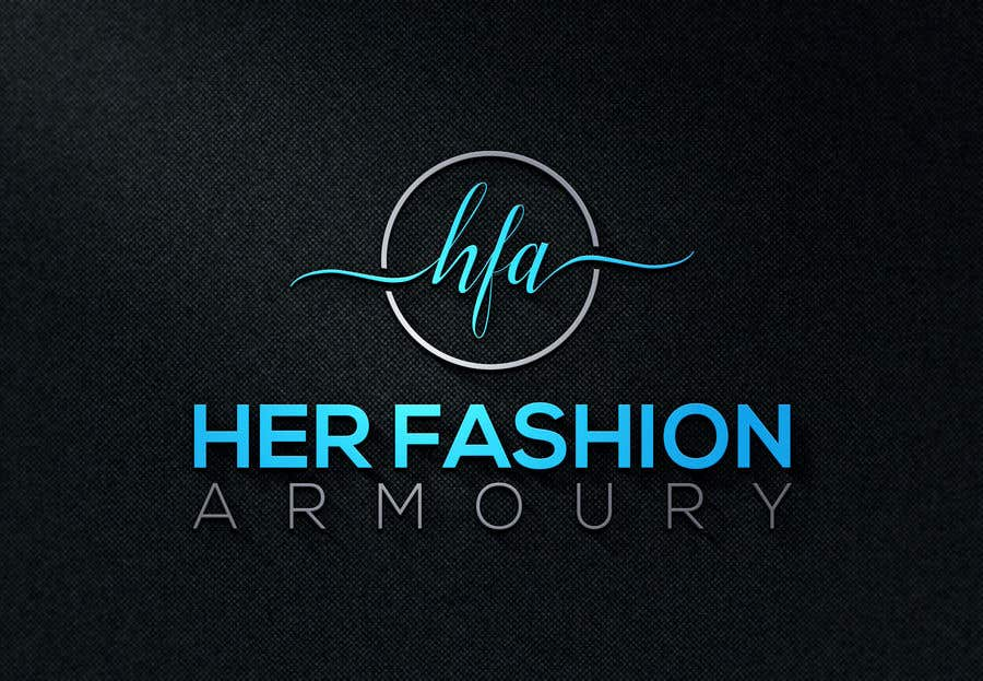 Konkurrenceindlæg #43 for 'Her Fashion Armoury' or the Acronym 'HFA' in a logo. No bright colours. Classic design. Will be for an online female clothing rental business
