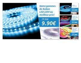 #37 для 4 Products Banners for our French Led strip ecommerce website от dnamalraj