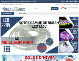 #33 для 4 Products Banners for our French Led strip ecommerce website от Mantazed