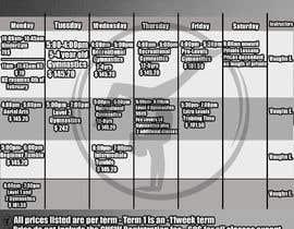 Nro 21 kilpailuun Design a timetable käyttäjältä IPucket
