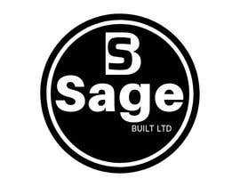 #20 для I need a Logo for my new company Sage Built Ltd. I really like the old retro Esso logo attached. I would like outside red perimeter to be dark forest green , with black cursive font in lieu of navy. The person with the best logo design wins, Good luck! от aleksaantic