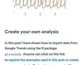 Solution for collecting data from google trends | Freelancer